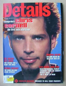 Details magazine - December 1996 - Chris Cornell cover