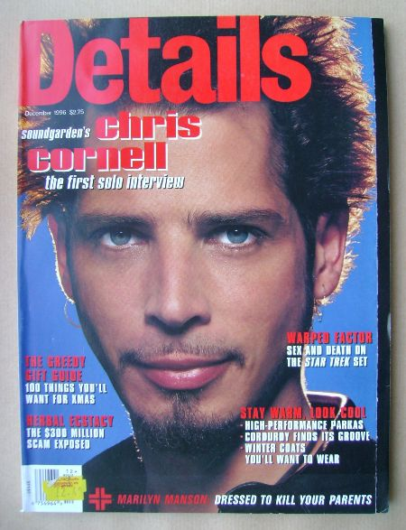<!--1996-12-->Details magazine - December 1996 - Chris Cornell cover