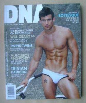 DNA magazine - Will Grant cover (October 2012 - Issue 153)