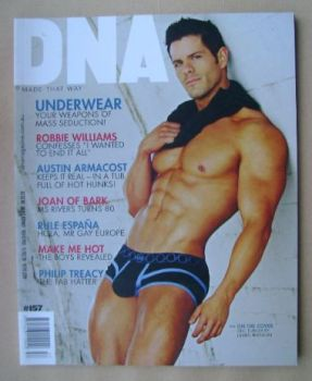 DNA magazine - Eric Turner cover (February 2013 - Issue 157)