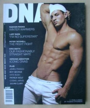 DNA magazine - Ryan Hughes cover (June 2011 - Issue 137)