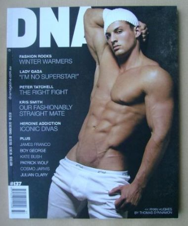<!--0137-->DNA magazine - Ryan Hughes cover (June 2011 - Issue 137)