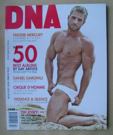 <!--0142-->DNA magazine - Josey Greenwell cover (November 2011 - Issue 142)