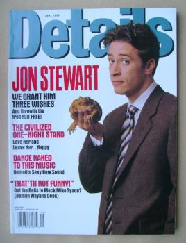 <!--1999-06-->Details magazine - June 1999 - Jon Stewart cover