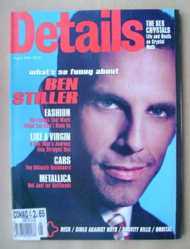 Details magazine - August 1996 - Ben Stiller cover