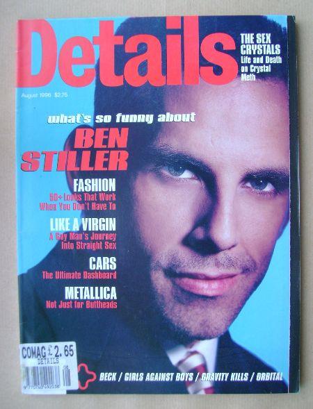 <!--1996-08-->Details magazine - August 1996 - Ben Stiller cover