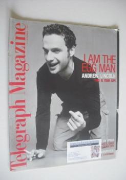Telegraph magazine - Andrew Lincoln cover (13 December 1997)