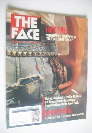 <!--1982-09-->The Face magazine - Hard Times cover (September 1982 - Issue