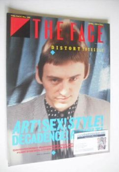 The Face magazine - Paul Weller cover (April 1983 - Issue 36)