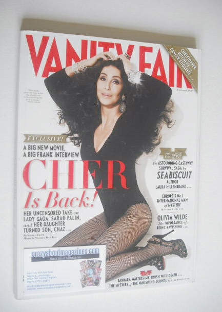 <!--2010-12-->Vanity Fair magazine - Cher cover (December 2010)