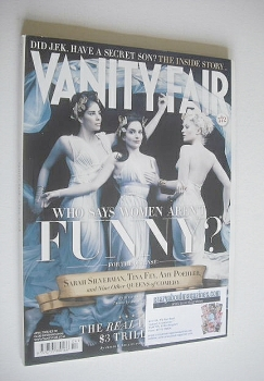Vanity Fair magazine - Sarah Silverman, Tina Fey and Amy Poehler cover (April 2008)