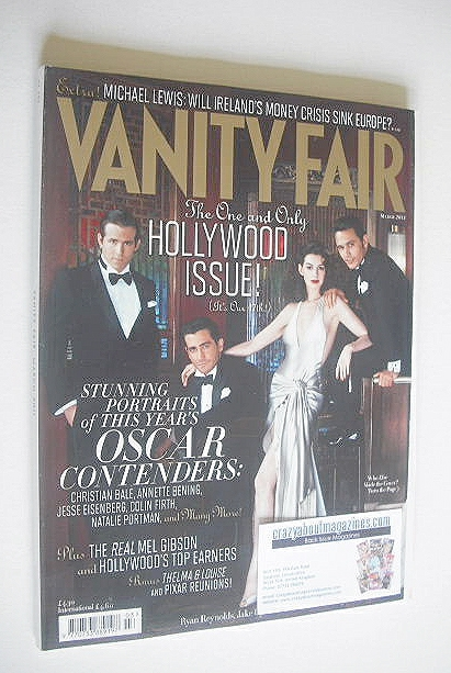 <!--2011-03-->Vanity Fair magazine - The Hollywood Issue (March 2011)