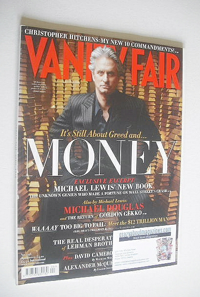 <!--2010-04-->Vanity Fair magazine - Michael Douglas cover (April 2010)