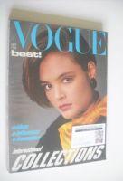 <!--1983-09-->British Vogue magazine - September 1983 (Vintage Issue)