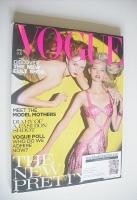 <!--2004-04-->British Vogue magazine - April 2004 - Lily Cole and Gemma Ward cover