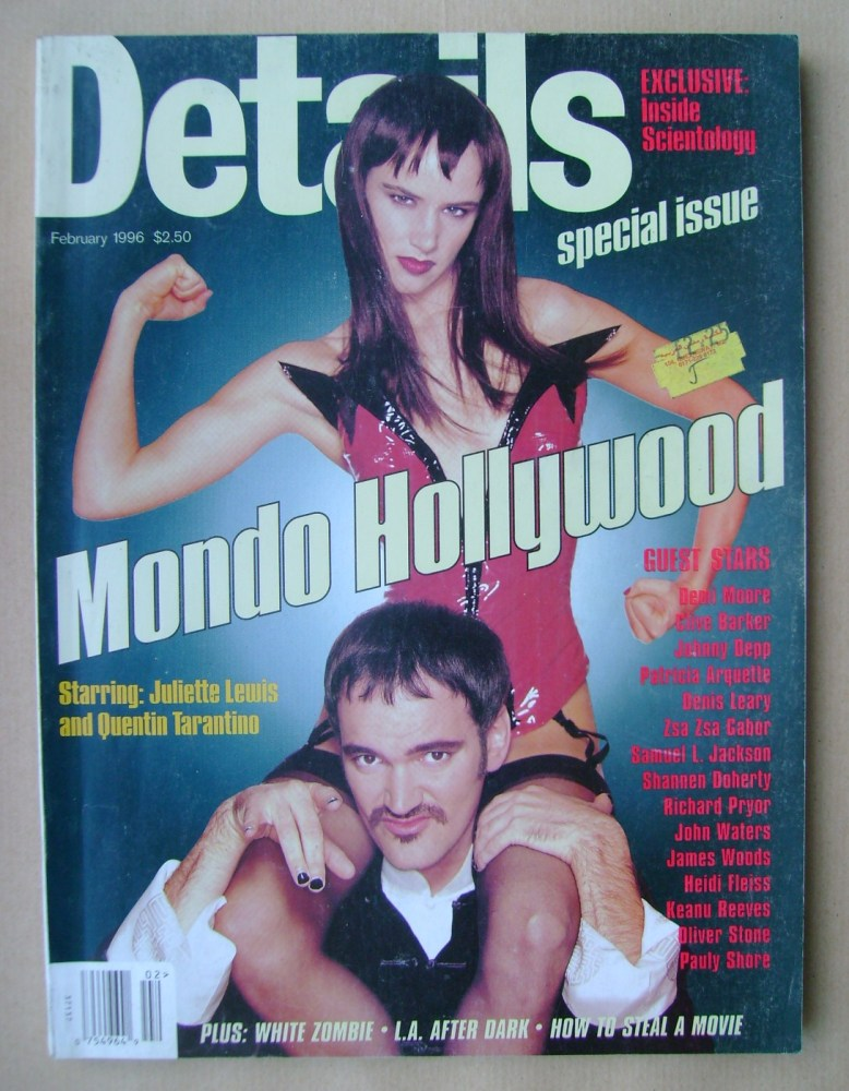 <!--1996-02-->Details magazine - February 1996 - Juliette Lewis and Quentin