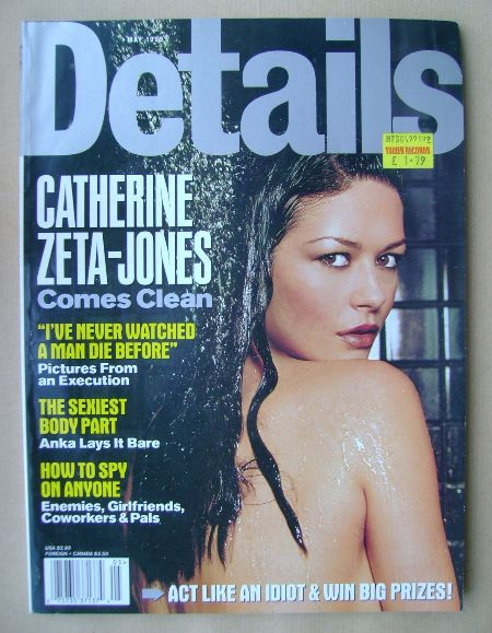 <!--1999-05-->Details magazine - May 1999 - Catherine Zeta-Jones cover
