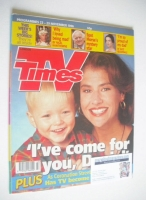 <!--1996-11-23-->TV Times magazine - Denise Black cover (23-29 November 1996)