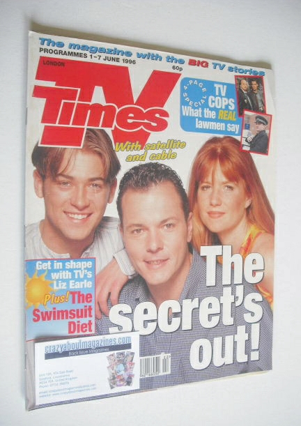 <!--1996-06-01-->TV Times magazine - Patsy Palmer, Paul Nicholls and Michae
