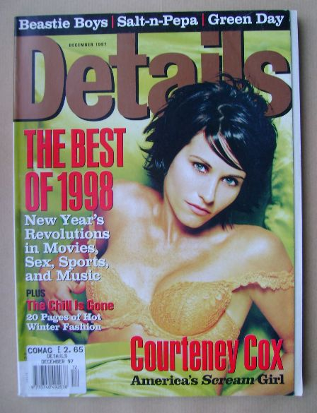 <!--1997-12-->Details magazine - December 1997 - Courteney Cox cover