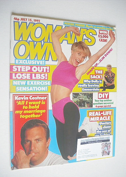 <!--1991-07-15-->Woman's Own magazine - 15 July 1991