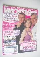 <!--1998-08-24-->Woman magazine - Malcolm Stoddard, Stuart Wade and Anna Brecon cover (24 August 1998)