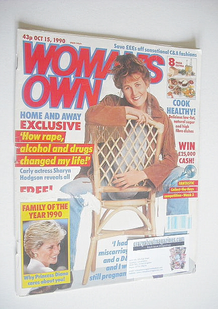 <!--1990-10-15-->Woman's Own magazine - 15 October 1990 - Sharyn Hodgson co