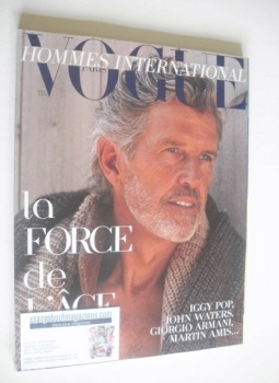 <!--2010-09-->Paris Vogue Hommes International magazine - Autumn/Winter 2010-2011 - Matt Norklun cover