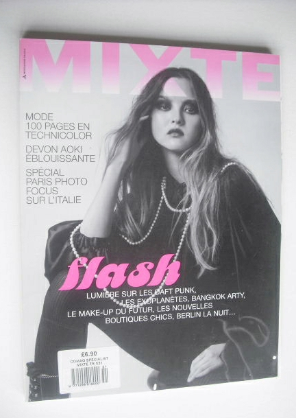 Mixte magazine - November 2007 - Devon Aoki cover
