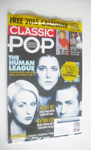 <!--2014-12-->Classic Pop magazine - The Human League cover (December 2014/