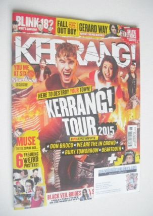 <!--2015-02-07-->Kerrang magazine - Kerrang! Tour 2015 cover (7 February 20