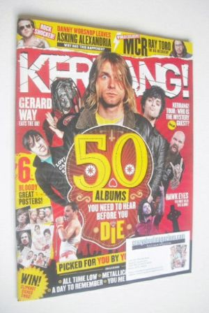 <!--2015-01-31-->Kerrang magazine - 50 Albums You Need To Hear Before You D