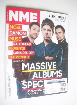 <!--2015-01-31-->NME magazine - Massive Albums Special cover (31 January 20