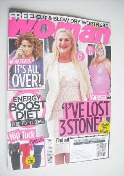 Woman magazine - Vanessa Feltz cover (9 February 2015)