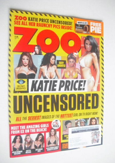<!--2015-01-30-->Zoo magazine - Katie Price cover (30 January - 5 February