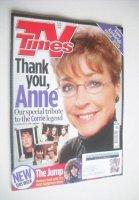<!--2015-01-31-->TV Times magazine - Anne Kirkbride cover (31 January - 6 February 2015)