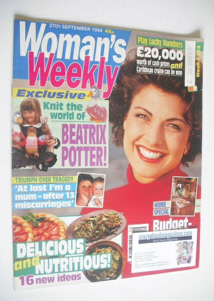 <!--1994-09-27-->Woman's Weekly magazine (27 September 1994)