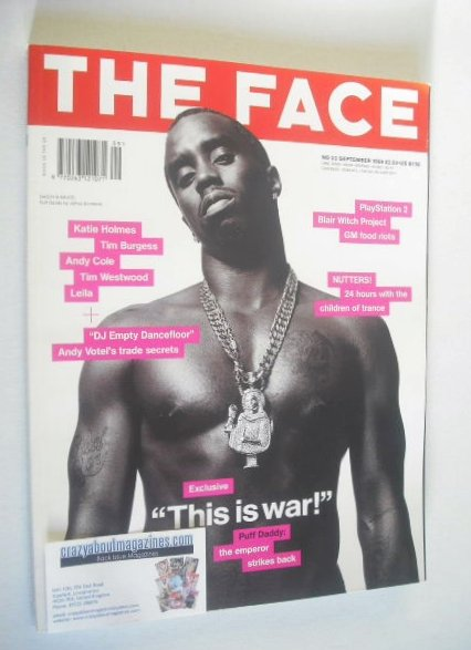 <!--1999-09-->The Face magazine - Sean Combs (Puff Daddy) cover (September