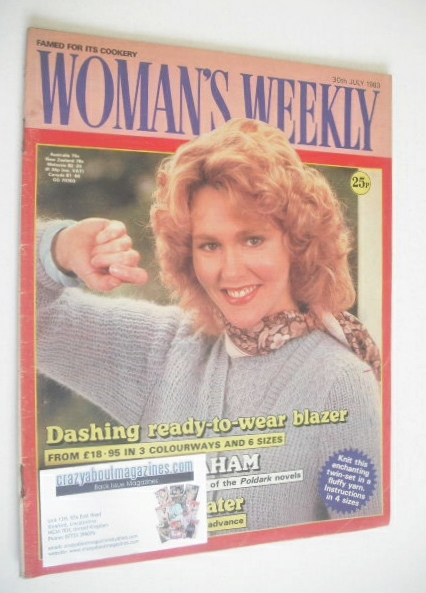 <!--1983-07-30-->Woman's Weekly magazine (30 July 1983 - British Edition)
