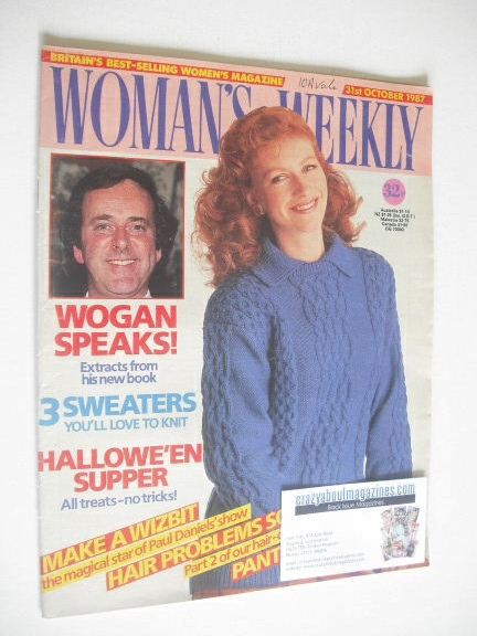 <!--1987-10-31-->Woman's Weekly magazine (31 October 1987 - British Edition