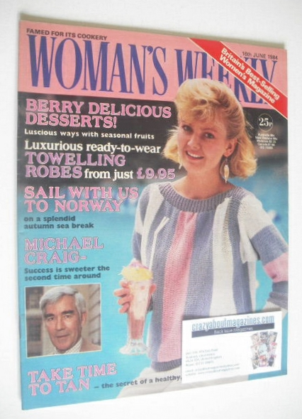 <!--1984-06-16-->British Woman's Weekly magazine (16 June 1984 - British Ed