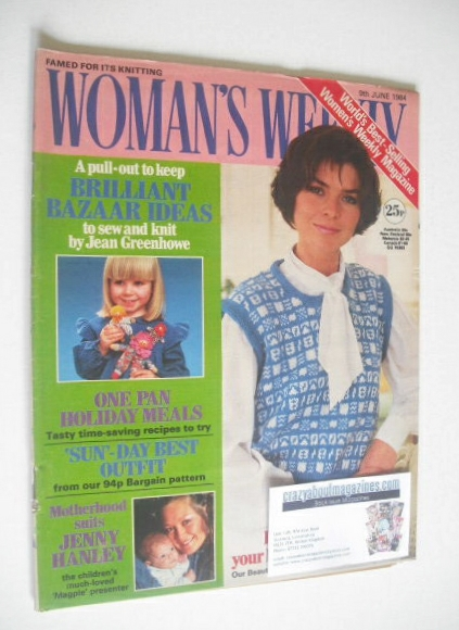 <!--1984-06-09-->British Woman's Weekly magazine (9 June 1984 - British Edi