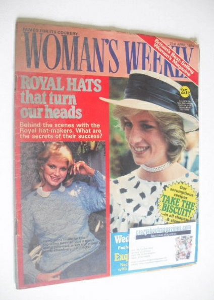 <!--1984-04-21-->British Woman's Weekly magazine (21 April 1984 - Princess