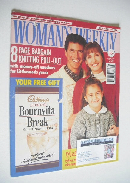 <!--1990-02-20-->Woman's Weekly magazine (20 February 1990)
