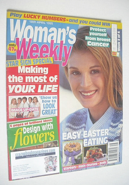 <!--1995-04-18-->Woman's Weekly magazine (18 April 1995 - British Edition)