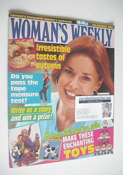 <!--1993-10-05-->Woman's Weekly magazine (5 October 1993)