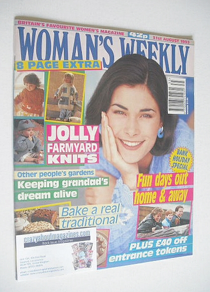 <!--1993-08-31-->Woman's Weekly magazine (31 August 1993)