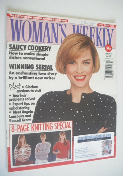 <!--1990-04-24-->Woman's Weekly magazine (24 April 1990)