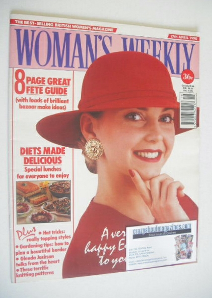 <!--1990-04-17-->Woman's Weekly magazine (17 April 1990)