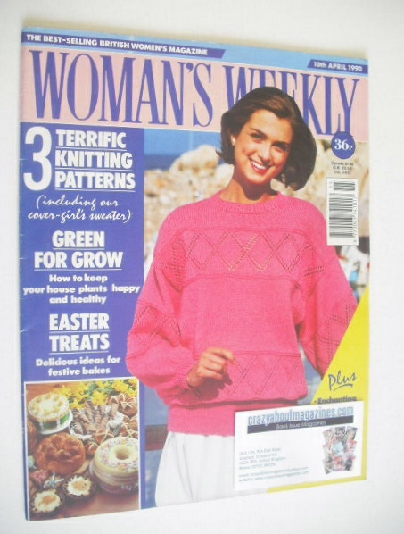 <!--1990-04-10-->Woman's Weekly magazine (10 April 1990)